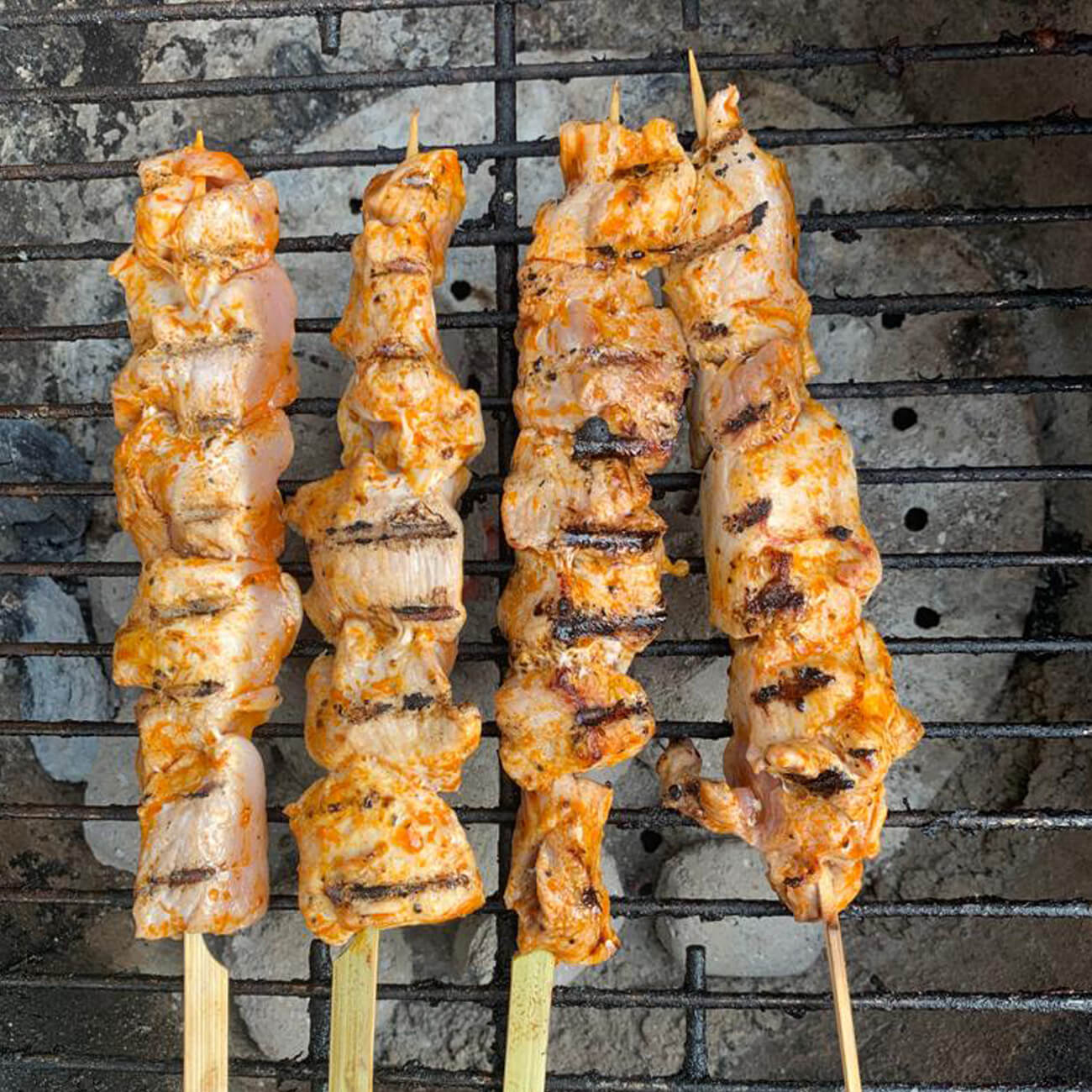 Four Acre Farm Kebabs